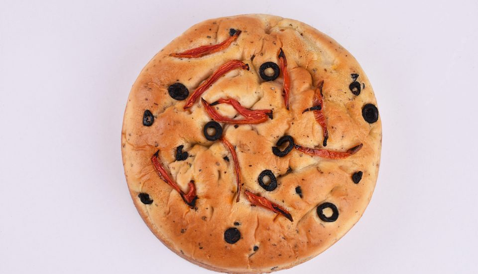 Cravity Sundried Tomatoes & Olives Focaccia
